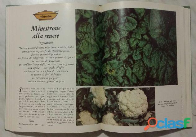Cucinare con le erbe; Editore: Coged/Rizzoli, 1°Edizione, Settembre 1979 Opera in 3 volumi 10