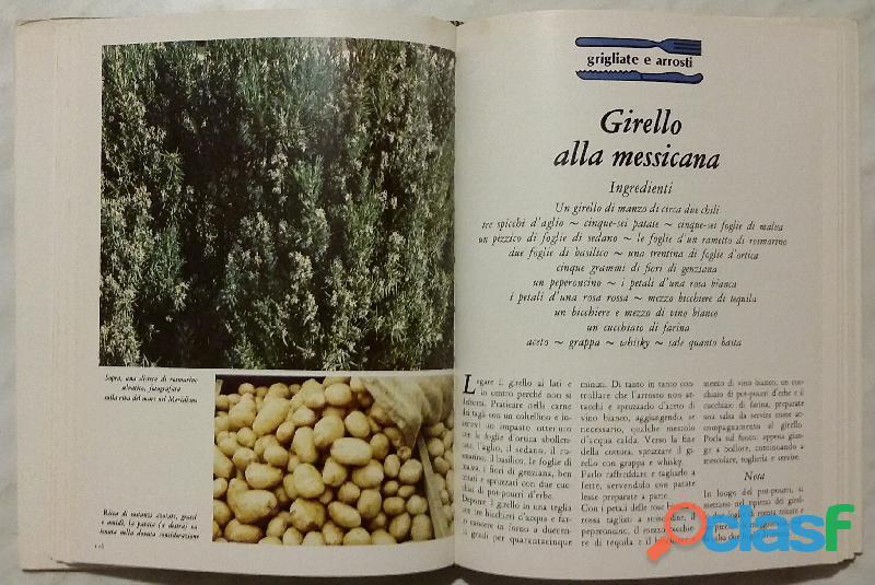 Cucinare con le erbe; Editore: Coged/Rizzoli, 1°Edizione, Settembre 1979 Opera in 3 volumi 2