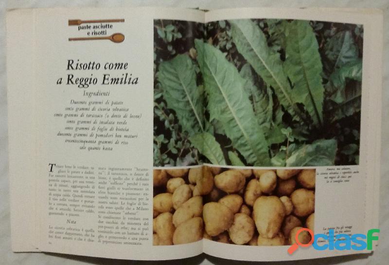 Cucinare con le erbe; Editore: Coged/Rizzoli, 1°Edizione, Settembre 1979 Opera in 3 volumi 1