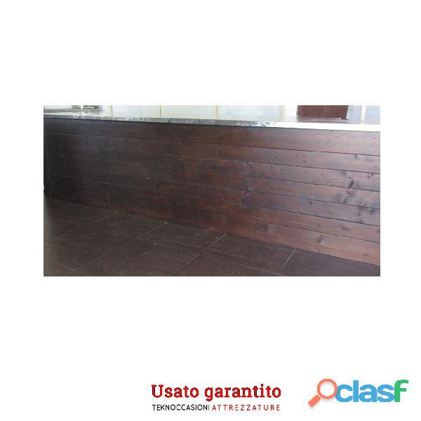 Banco bar completo in legno semi nuovo 0