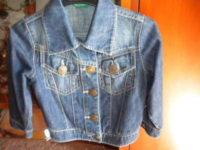 Giubbino jeans benetton 0