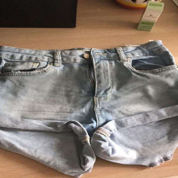 Pantaloncini corti a vita alta Tally Weijl 0