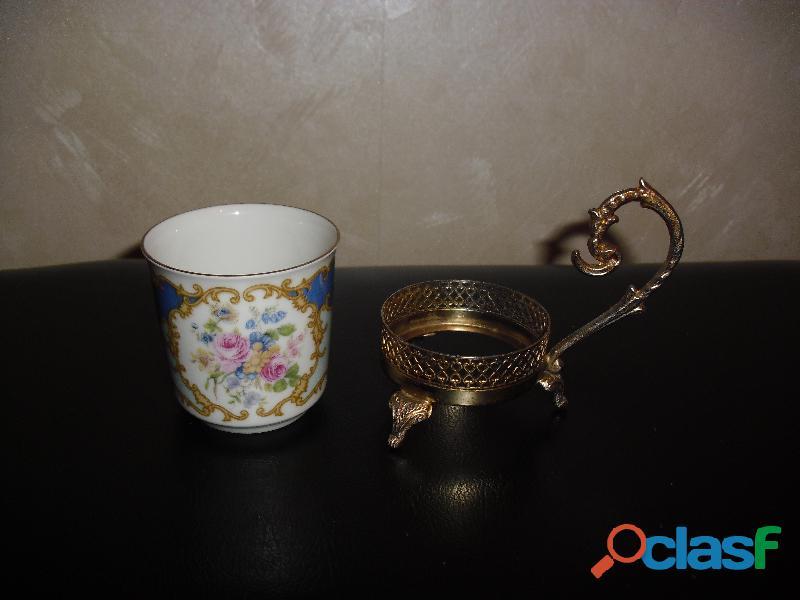 servizio caffe BAVARIA con vassoio e alzatine 5