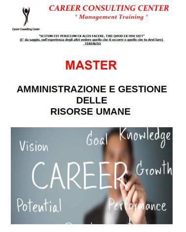 MASTER IN AMMINISTRAZIONE E GESTIONE RISORSE UMANE 0