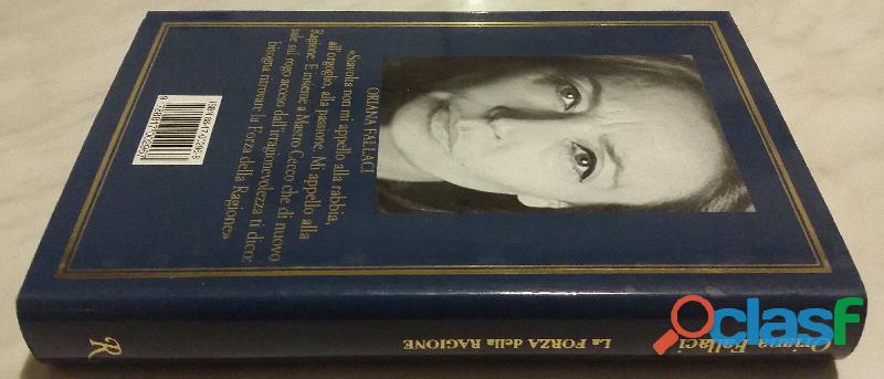 La forza della ragione di Oriana Fallaci; Editore:Rizzoli International, aprile 2004 nuovo 2