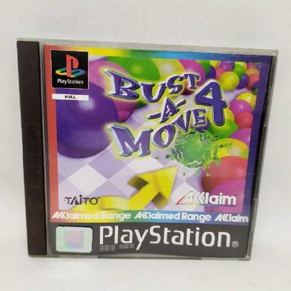 Videogioco play station 1 bust a move 4 0