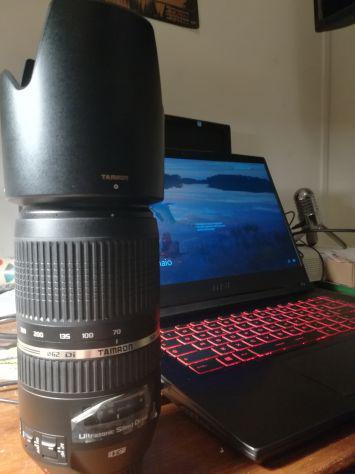 Tamron 70-300Mm F/4-5.6 Canon Ultrasonic + paraluce 0