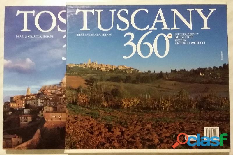 Toscana 360° in cofanetto di Paolucci, Antonio  Roli, Ghigo; 1°Ed.Priuli & Verlucca, 2004 nuovo 4
