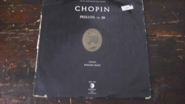 Chopin Preludi Op.28 LP 33 giri pianista RYSZARD BAKST d60 0