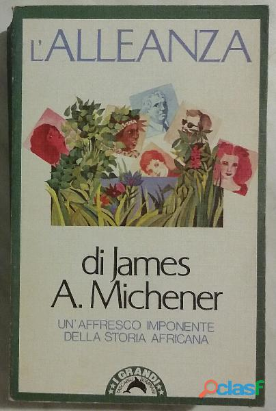 L'alleanza The Covenant di James A.Michener; 1°Ed.Bompiani, giugno 1983 perfetto 0
