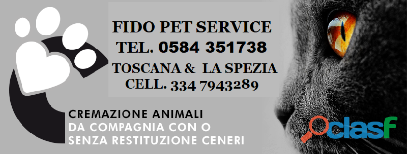 Fido pet service cremazione animali domestici