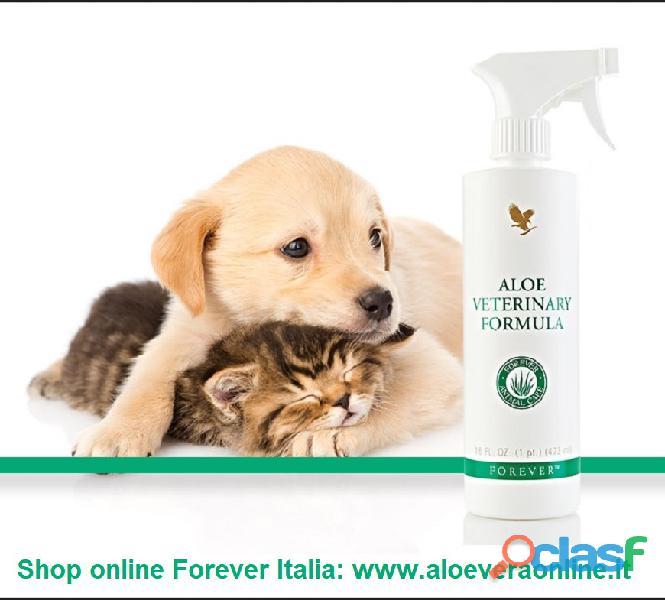 Aloe vera prodotti anche per i tuoi animali