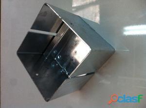 Bicchieri zincati 16x16 per gazebo