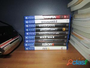 Playstation 4 con 9 giochi