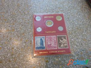 Vendo collezione monete e francobolli roma