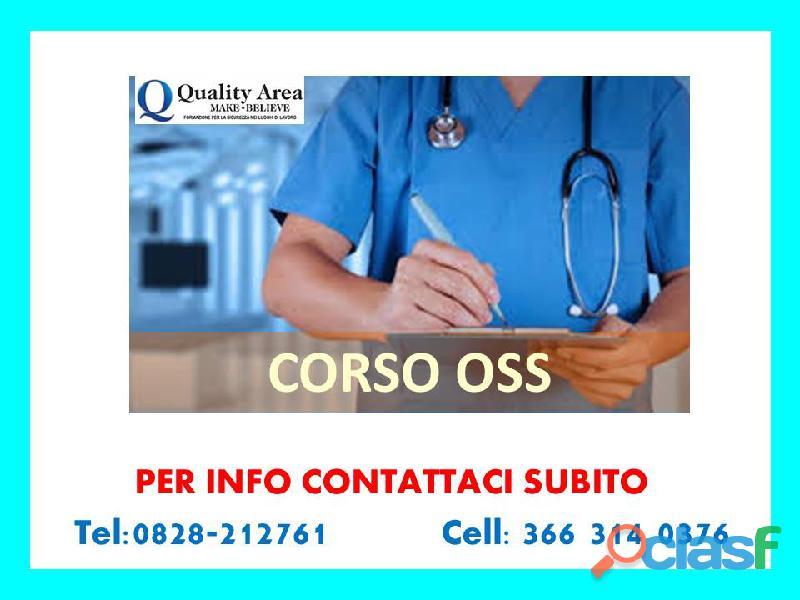 Corso operatore socio sanitario oss