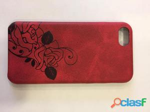 Cover iphone 7 in gomma e in bamboo