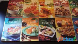 Serie di libri di cucina