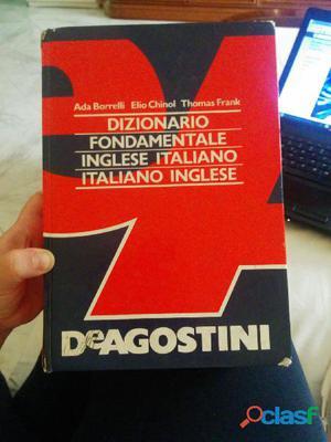 Dizionario inglese de agostini