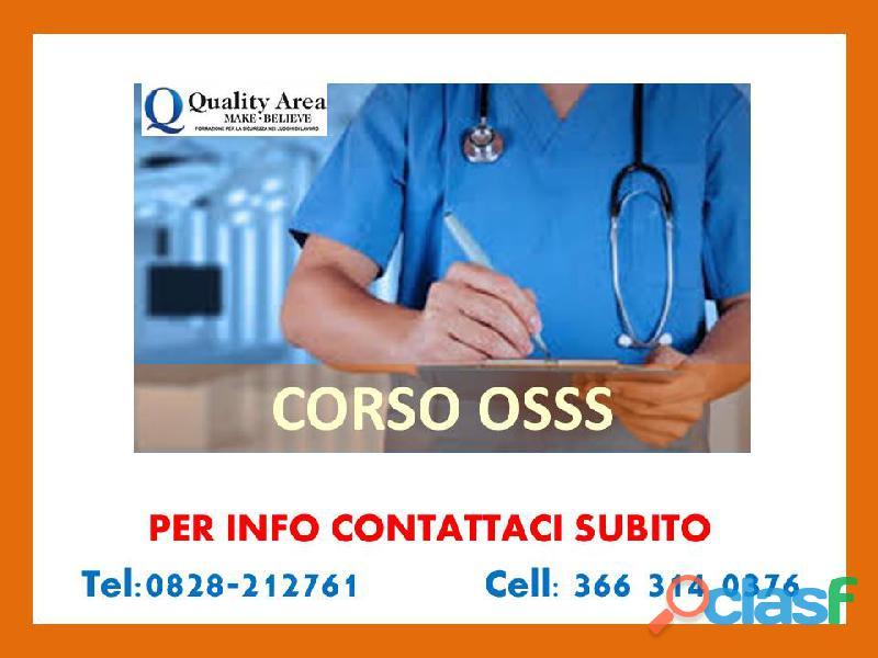 Corso osss 3s ( in tutta italia )