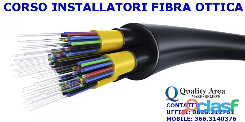 Corso installatori fibra ottica (salerno)