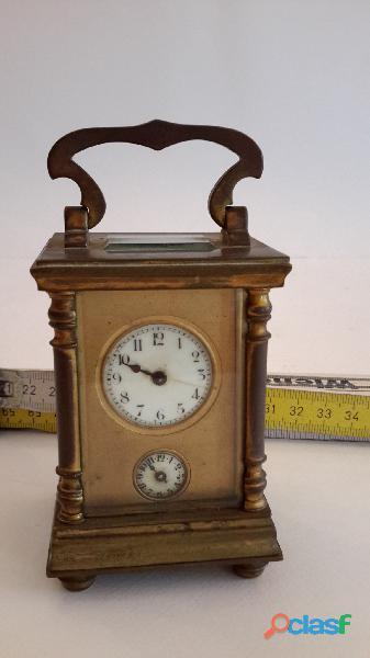 Cappuccina o orologio da viaggio rarissima in queste misure