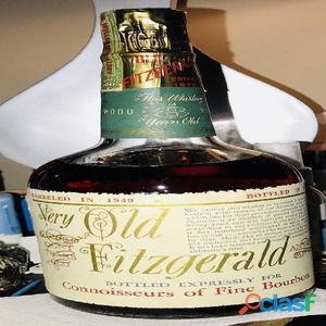 Very old 1949 whiskey del famoso pappy van winkle