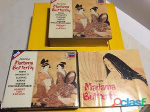 Cofanetto 3xcd puccini madama butterfly 73""