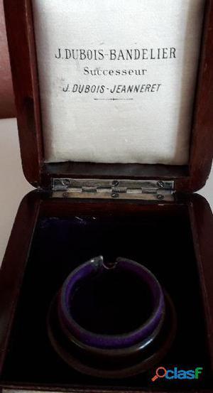 Scatola d'epoca per orologio da tasca J.DUBOIS  BANDELIER