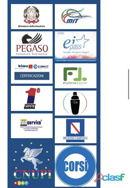 Ente di Formazione Accreditato dal 1998 riconosciuto in tutta Italia