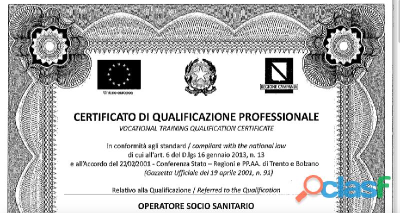 Ente di Formazione Accreditato dal 1998 riconosciuto in tutta Italia 9