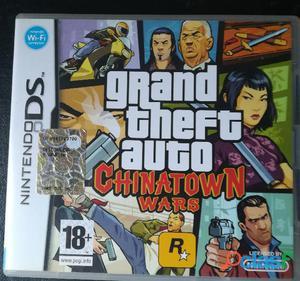 Grand theft auto gta chinatown wars gioco nintendo ds versione italiana