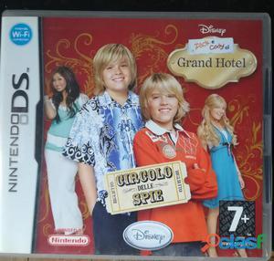 Nintendo ds lite zack e cody al grand hotel   circolo delle spie
