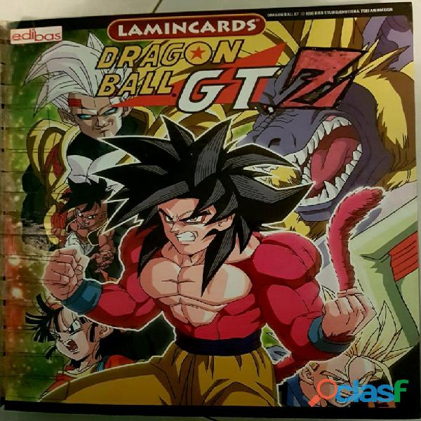 Game cards & figures dragon ball   z   gt