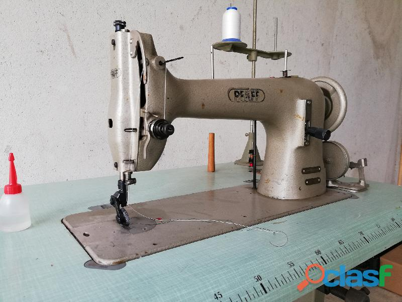 MACCHINA DA CUCIRE PFAFF 34 adatta a orlatrici e macchiniste del settore pelletteria e calzature.