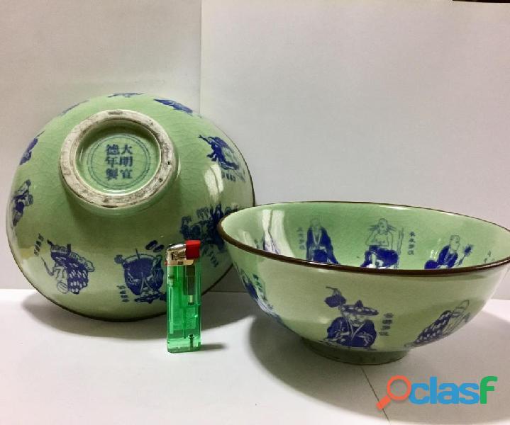 CIOTOLE BOWL antiche MING marchio XUANDE Cina