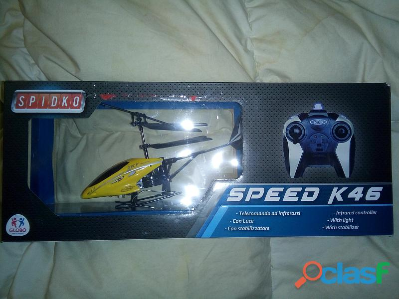 Vendo elicottero radiocomandato globo