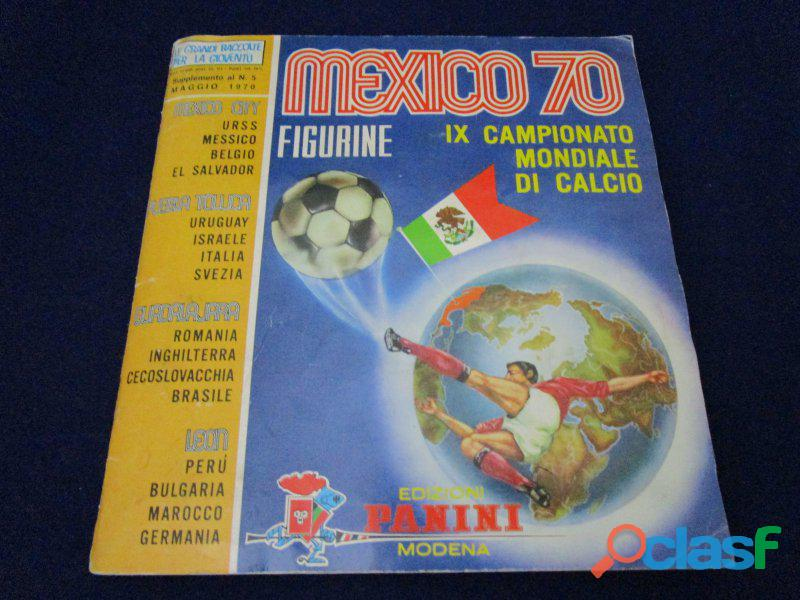 Panini album mondiali calcio 1970 world cup mexico 70