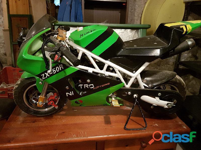 Minimoto nitro motors 50cc , zx 50r,