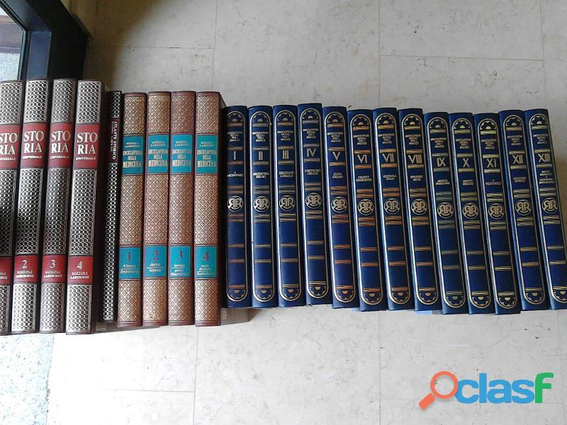 Vendo Enciclopedie Rizzoli Larousse