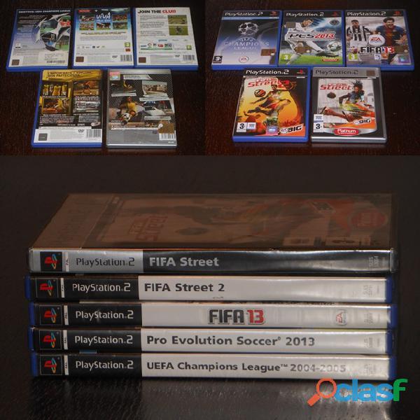 Playstation 2, calcio n. 5 videogiochi.