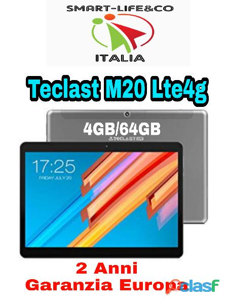 Tablet teclast m20 4g lte 10.1 pollici