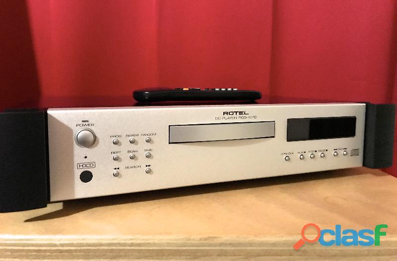 Rotel cd player rcd1070 demo negozio assolutamente nuovo