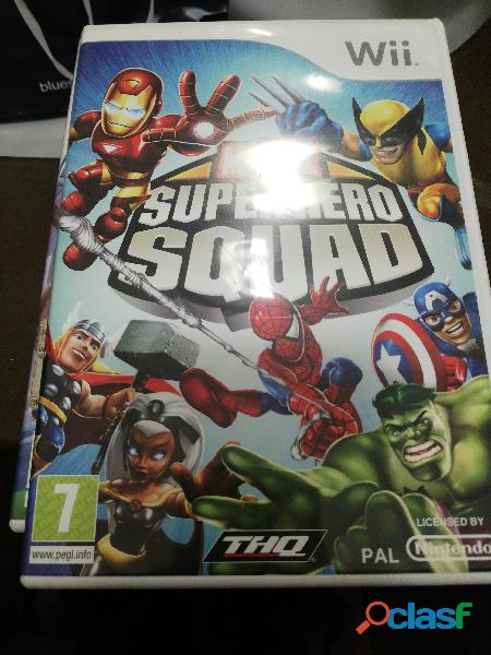 Gioco wii marvel super hero squad