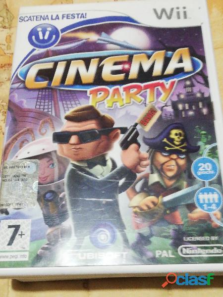 Gioco cinema party wii