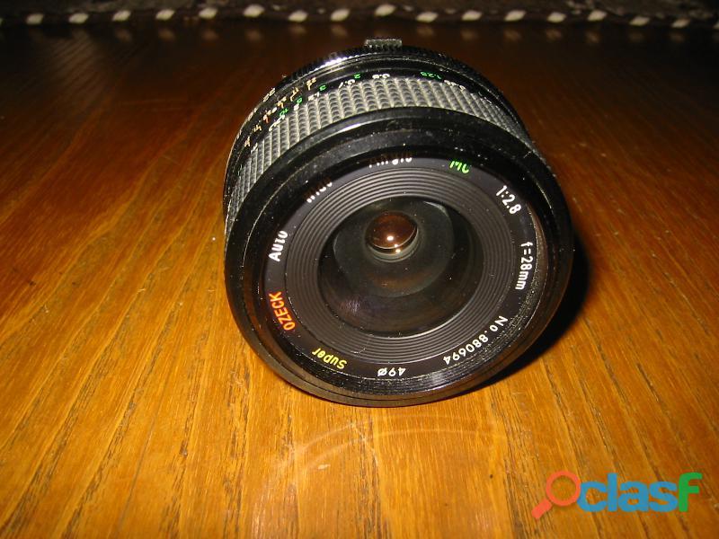 Obiettivo auper ozeck f 28mm.
