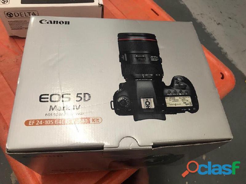 Fotocamera reflex digitale Canon EOS 5D Mark IV 30.4MP con obiettivo