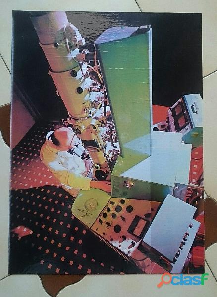 Microscopio elettronico quadro
