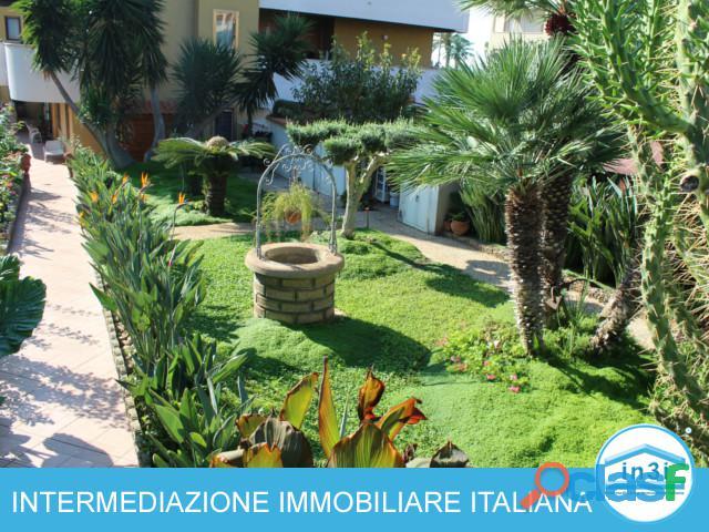 Appartamento con giardino santa marinella