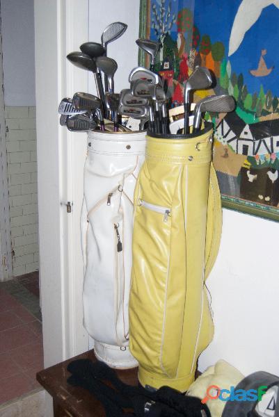 Set di mazze da golf vintage